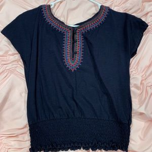 Navy American Eagle Cute top